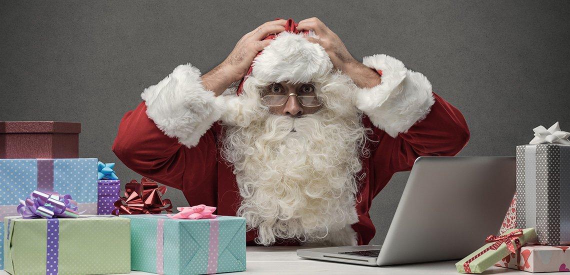 Die schönsten Kommunikationsfehltritte zu Weihnachten. (c) Getty Images / cyano66