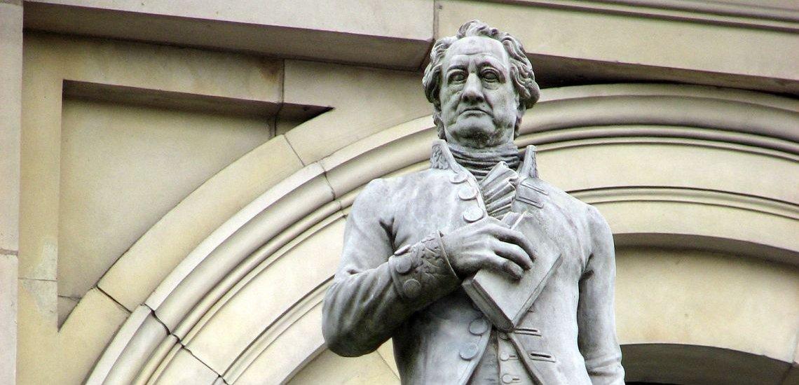 Wäre über den Wandel der deutschen Sprache vermulich wenig erfreut: Johann Wolfgang von Goethe. (c) Thinkstock/Norbert Speicher