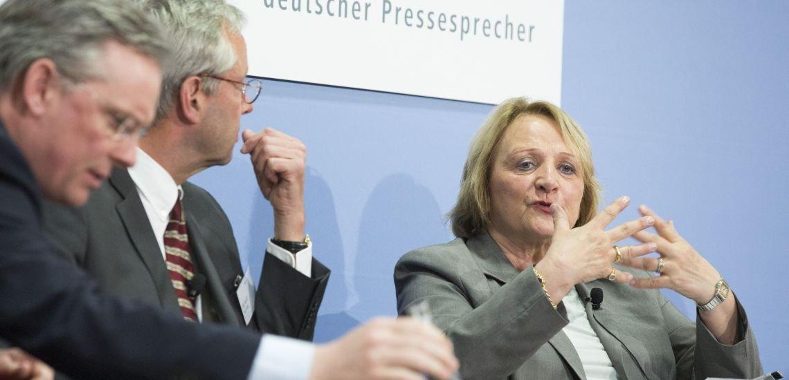 Sabine Leutheusser-Schnarrenberger, Justizministerin a.D. und Mitglied des Google-Expertenbeirats zum Recht auf Vergessenwerden (c) Julia Nimke