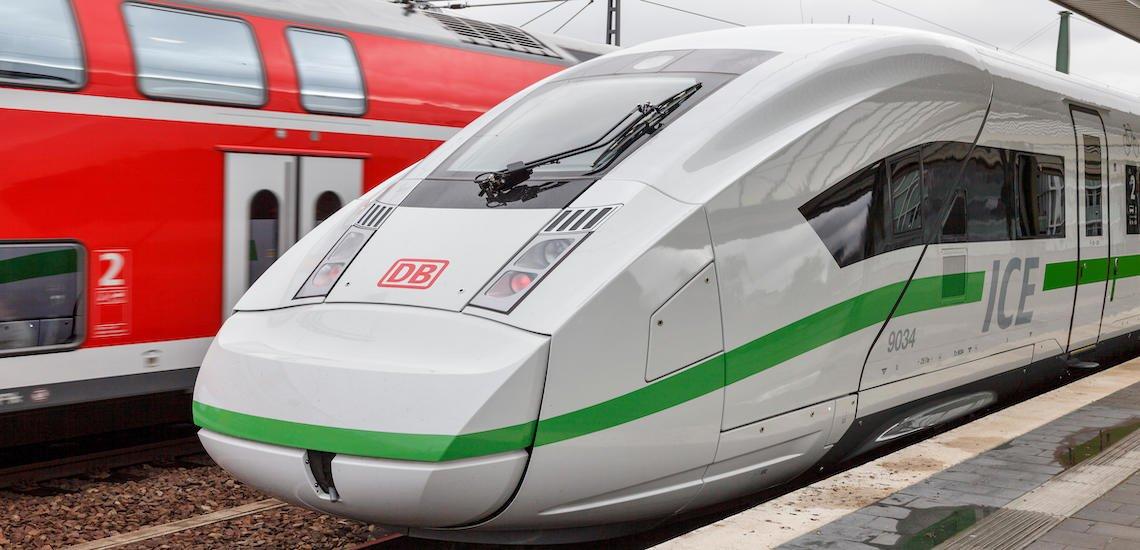 Die Bahn will grüner werden. (c) Deutsche Bahn