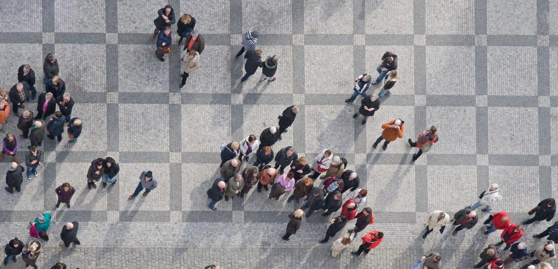 """Praxis Case vom Kommunikationskongress: """"Begegnungen"""" von Aktion Mensch (c) Getty Images/iStockphoto/zjirousek"""