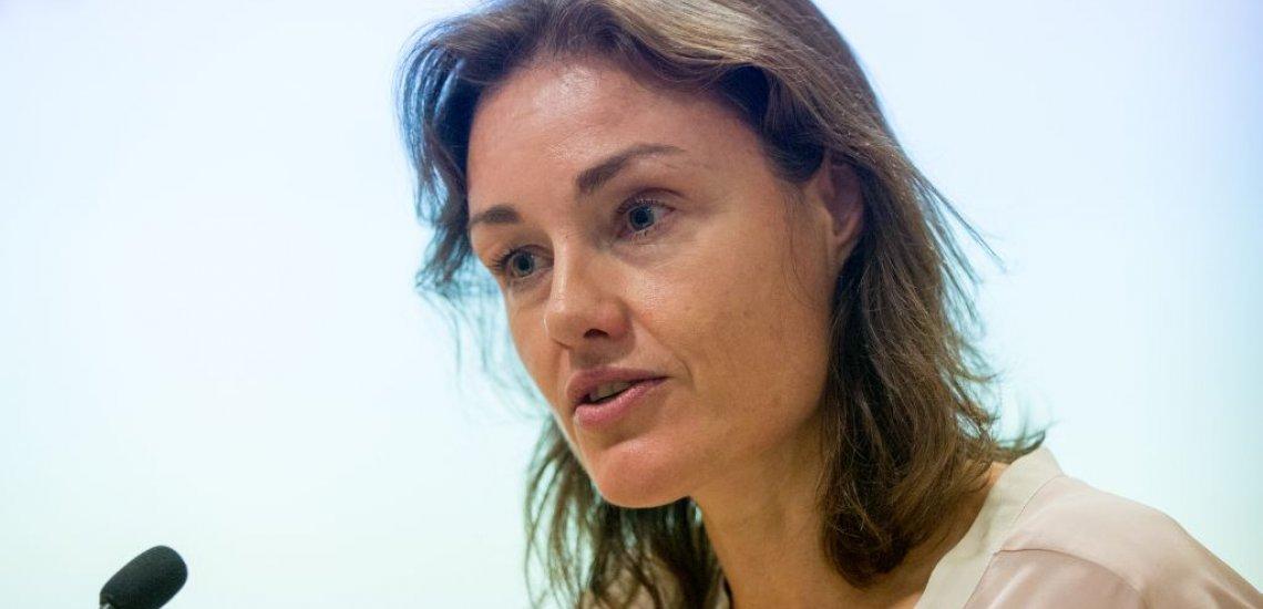 Katja Kraus bei Ihrer Keynote über Macht und Ohnmacht (c) Laurin Schmid