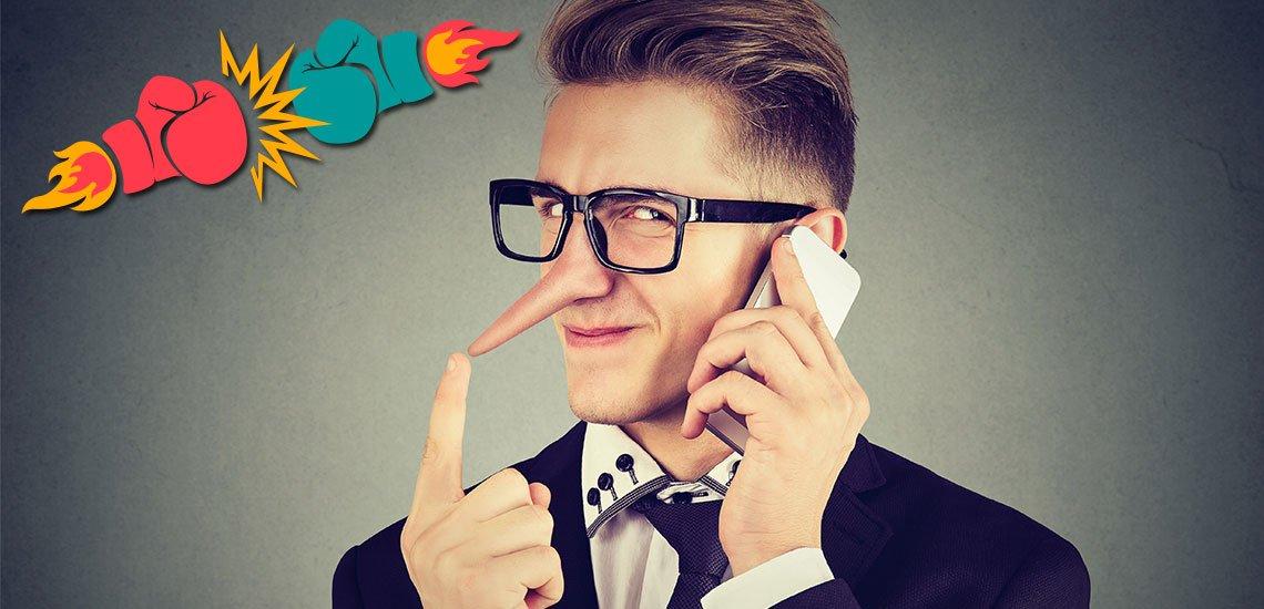 Dürfen Kommunikatoren das Instrument der Lüge nutzen? / Symbolbild: (c) Getty Images/serazetdinov/SIphotography