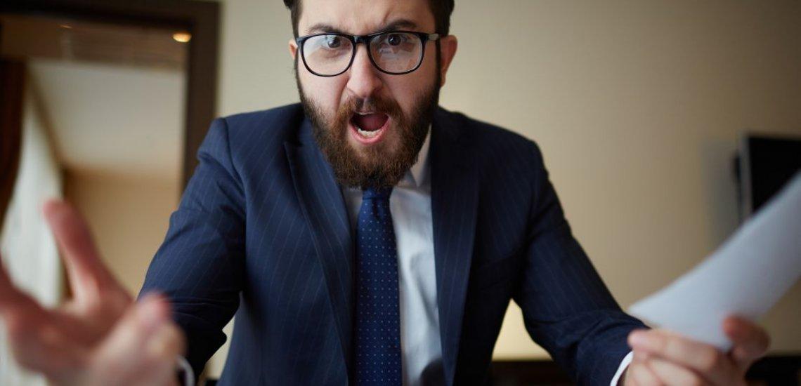Was tun, wenn der Chef übergeschnappt ist? (c) Thinkstock/shironosov