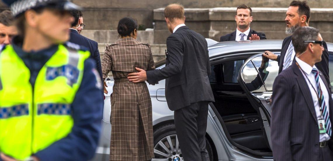Muss auch online geschützt werden: Meghan Markle, Herzogin von Cambridge, mit ihrem Mann, Prinz Harry. (c) GettyImages/NataliaCatalina