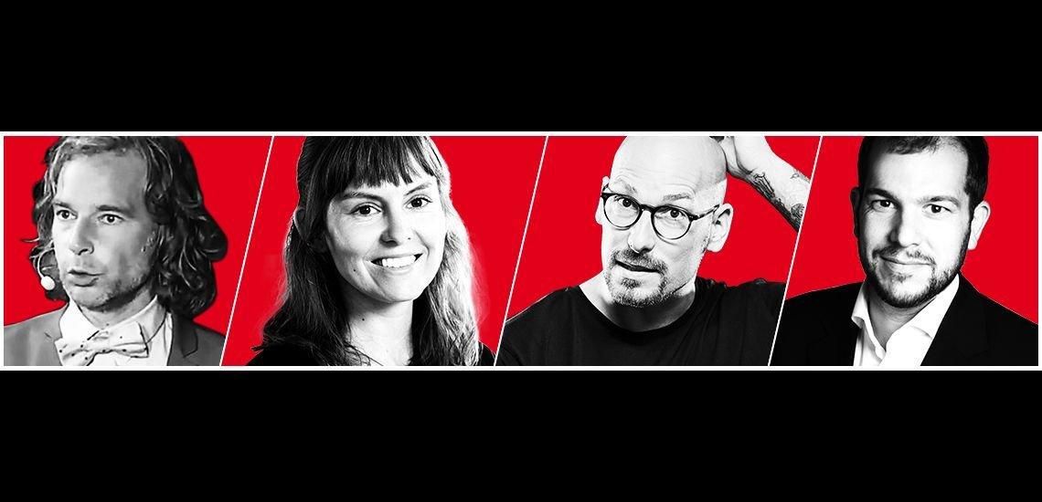 Kommunikatoren erzählen, wie sie Hürden überwanden oder Neues wagten. (c) Fotos: privat, Jasmina Meyer - Spreadshirt, Studio Hirschmeier, Johannesbad / Collage: Quadriga Media Berlin