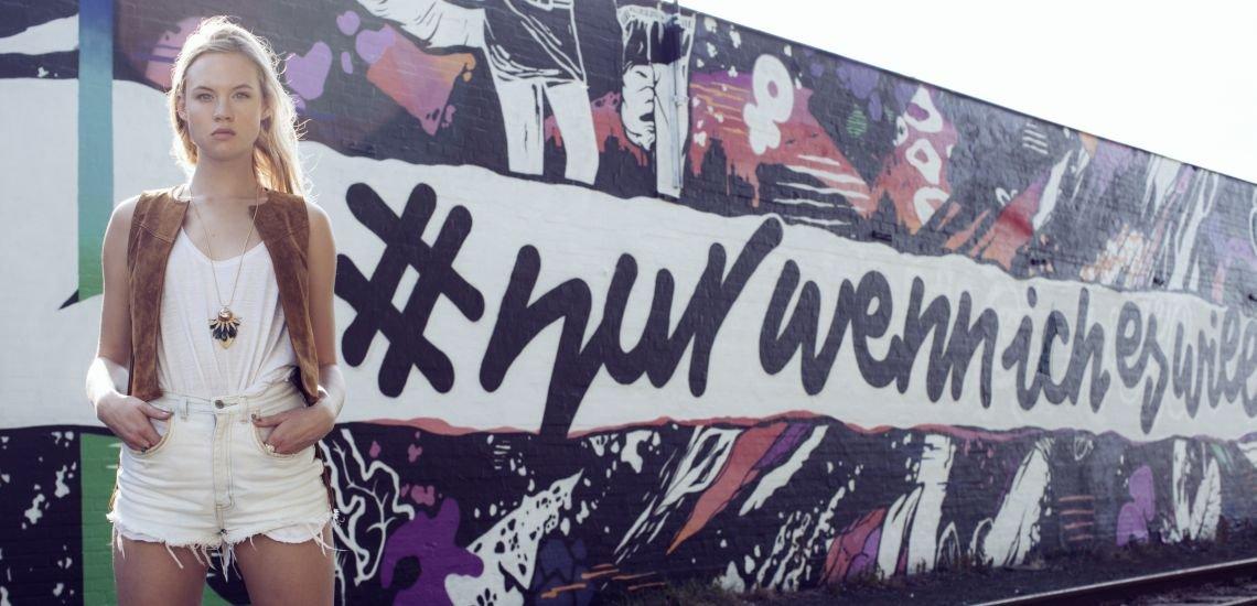 Kampagne #nurwennicheswill (c) Lena Jacobsen
