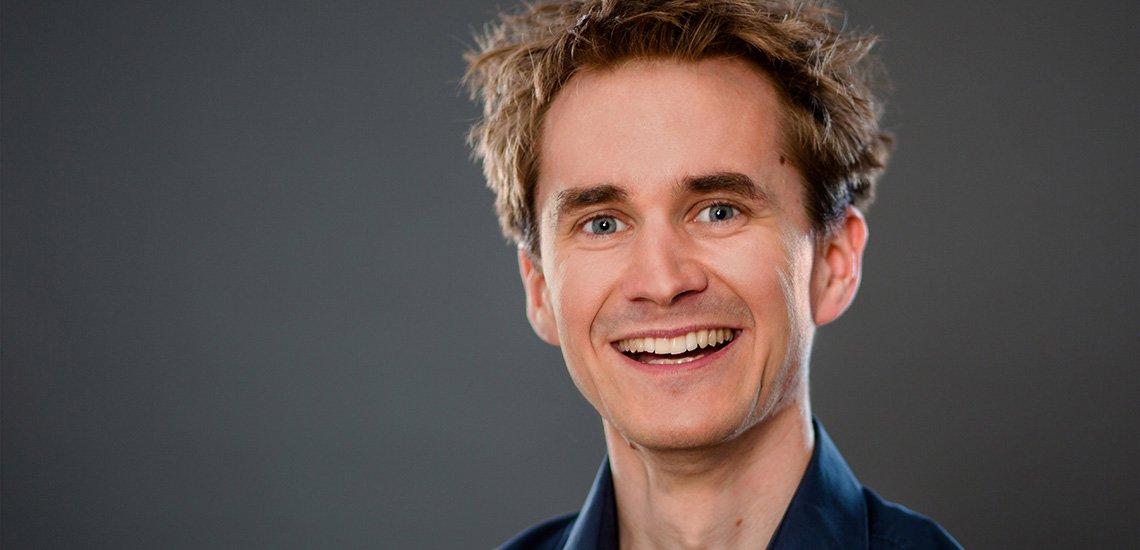 Neurowissenschaftler Henning Beck erklärt, was visionäres Denken ausmacht. (c) Marc Fippel