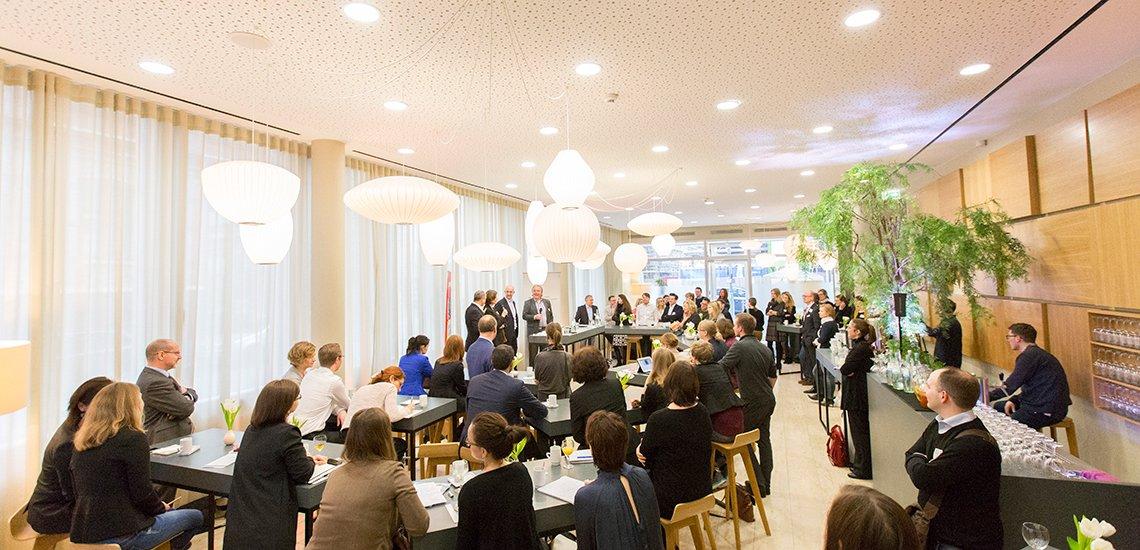 Der 2. PR-Morgen zur internen Kommunikation in Berlin (c) Julia Nimke