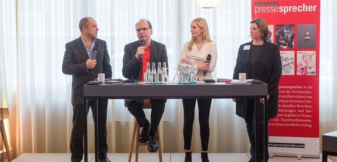 Volker Knauer, Klaus Eck, Jennifer Lachman und Hilkka Zebothsen (v.l.); (c) Laurin Schmid