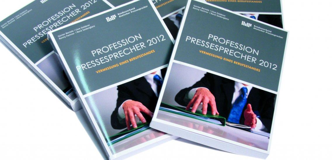"""Gibt Auskunft zum Status Quo des Berufsstands: Die Studie """"Profession Pressesprecher 2012"""" (c) Stefan Baumann"""