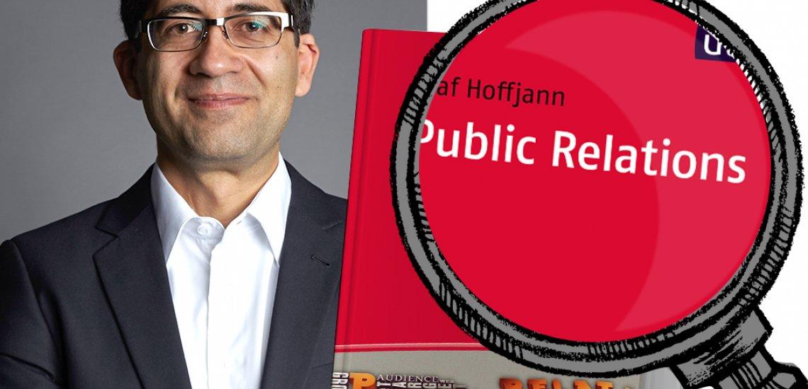 """Swaran Sandhu rezensiert """"Public Relations"""" von Olaf Hoffjann (c) Foto: Ben Kraus; Collage: Mona Karimi"""