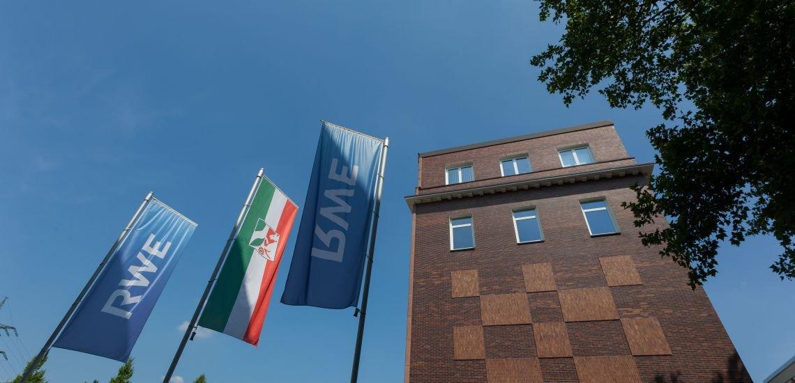 Der Hauptsitz von RWE in Essen. (c) RWE