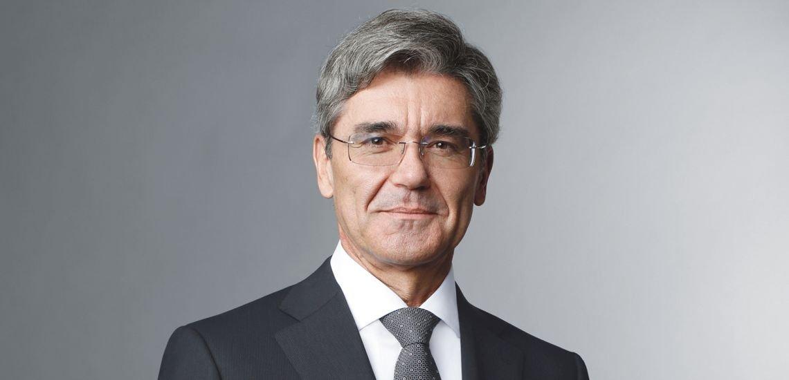 Siemens-Chef Joe Kaeser überzeugt Wirtschaftsjournalist:innen. (c) Siemens