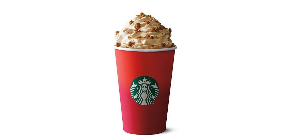 Angeblich nicht festlich genug: Der diesjährige Weihnachts-Kaffeebecher von Starbucks. Foto: Starbucks