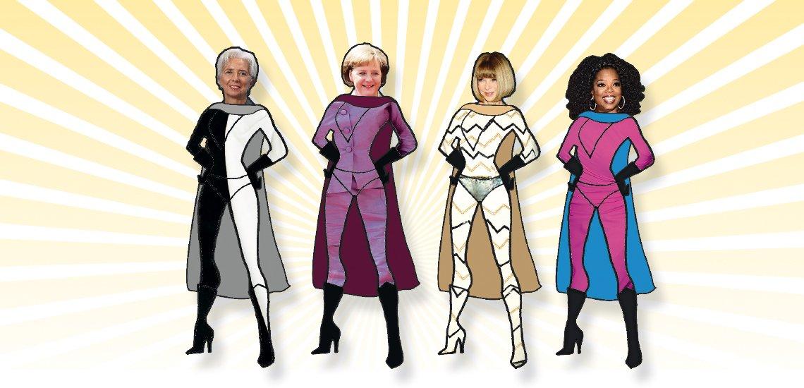 Was unterscheidet Christine Lagarde, Angela Merkel, Anna Wintour und Oprah Winfrey von ihren männlichen Kollegen?(c) Quadriga Media Berlin