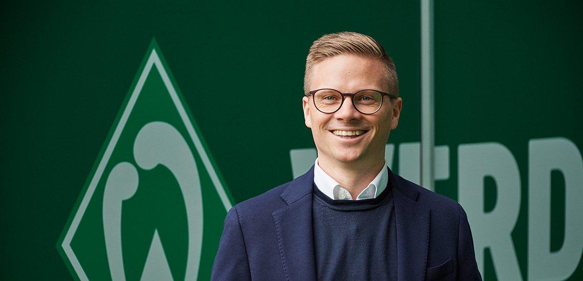 DPOK-Jurymitglied Dominik Kupilas im Interview. (c) SV Werder Bremen