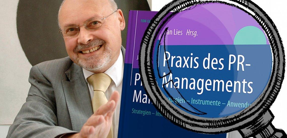 Professor Arlt hat sich für uns das neue Buch von Professor Jan Lies angeschaut (c) David Ausserhofer & Thinkstock, Illustration: Antje von Daniels