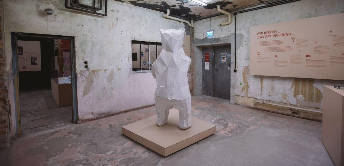 Berliner Bär im Open Innovation Space von Ottobock (c) Julia Nimke