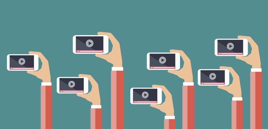 Videoclips in den sozialen Netzwerken müssen nicht immer im Querformat sein. (c) Thinkstock/TCmake_photo