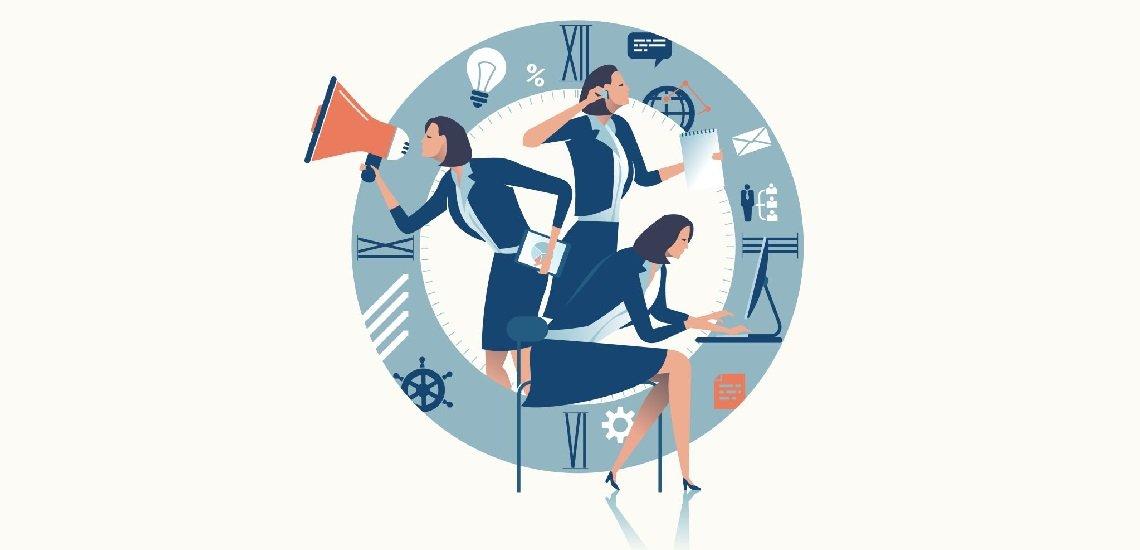 Es gibt Wege, sich auf seine Arbeit zu konzentrieren, ohne ständig abgelenkt zu werden. (c) Thinkstock/bizvector