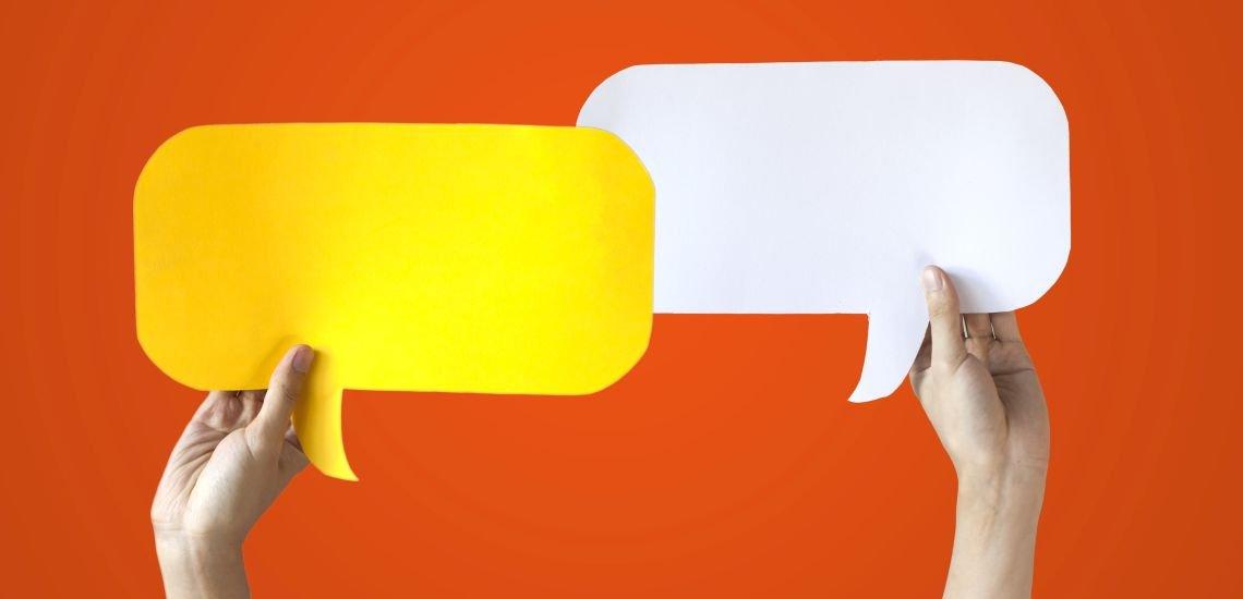 Interne Kommunikation ohne Dialog ist Propaganda, meint die KfW - und fördert den Dialog mit den Chefs. (c) Thinkstock/twinsterphoto