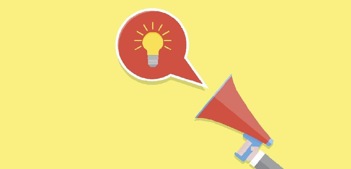 Mehr kluge Gedanken, weniger Show - das tue so mancher Rede gut, meint unser Kolumnist. (c) Thinkstock/09910190