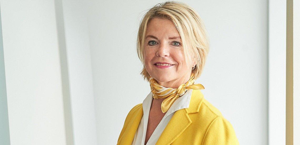 Wechselt nach rund 20 Jahren in Führungspositionen bei Hering Schuppener auf die Position der Chairwoman: Tina Mentner. (c) Hering Schuppener