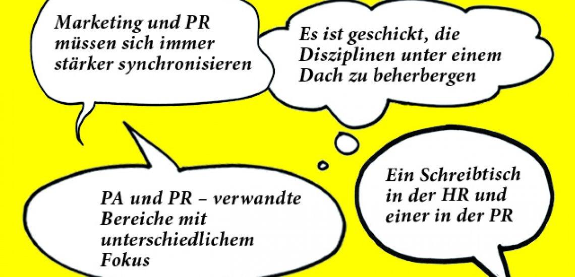 """Serie """"Stiefgeschwister"""": Kommunikation und ihre Nachbardisziplinen (c) Quadriga Media Berlin"""