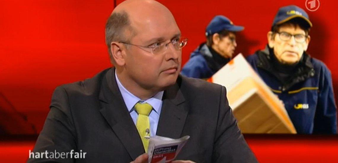 Gero Furchheim in der Sendung hart aber fair: (c) http://www.daserste.de/information/talk/hart-aber-fair/videosextern/suesser-die-kunden-nie-klicken-zu-viel-macht-fuer-amazon-und-co-100.html