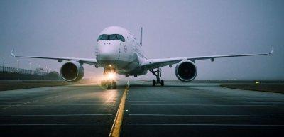Die erste Lufthansa A350 landet in München. (c) Oliver Roesler