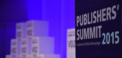 """Der VDZ veranstaltet den """"Publisher's Summit"""" 2015 (c) VDZ"""