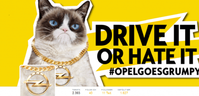 Screenshot des Opel-Twitter-Accounts