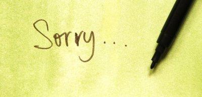 Entschuldigen oder nicht entschuldigen? Das meint Rechtsanwalt Thomas Klindt (c) Thinkstock/draganajokmanovic