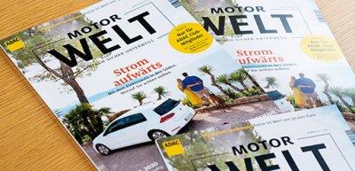 """Ab kommenden Jahr übernimmt die Burda-Tochter BCN die Produktion von """"Motorwelt"""". / """"Motorwelt"""": (c) ADAC e.V."""