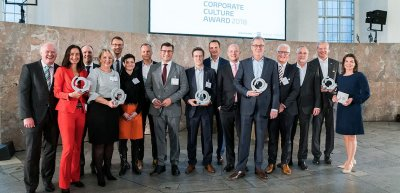 Die Gewinner des Corporate Culture Award. (c) Andreas Henn