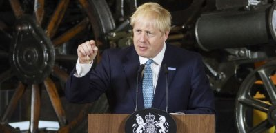Der britische Premierminister Boris Johnson. (c) UK Government