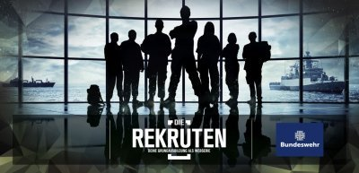 """Der Wehrdienst als Blockbuster: Mit """"Die Rekruten"""" wollte die Bundeswehr ihre Attraktivität als Arbeitgeber erhöhen. (c) Bundeswehr"""