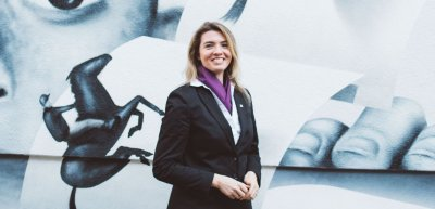 Franziska Nocke, Sprecherin der Evangelsichen Bank (c) Julia Nimke