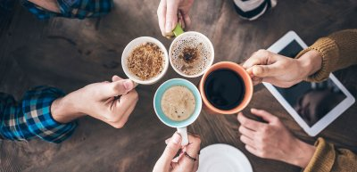 Siemens dachte die interne Kommunikation neu. Heraus kam Coffee Mug. / Kaffeetasse: (c) Getty Images/seb_ra