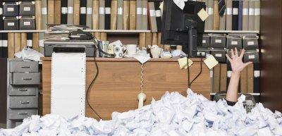 Die Fax-Zeiten sind zum Glück passé. (c) Getty Images/gemenacom