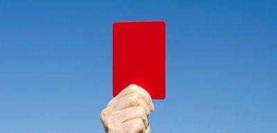 Rote Karte für Fifa und DFB: Wo die Haltung fehlt, steht das Image auf dem Spiel. (c) Getty Images/joel-t