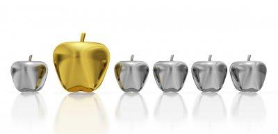 """Der """"Goldene Apfel"""" wurde bislang für die Pressestelle des Jahres vergeben. (c) Getty Images/SidharthThaku"""