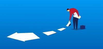 Wer nach einem Fehler nicht nur aufräumt, sondern auch für die Zukunft lernt, kommt weiter. (c) Getty Images/z_wei