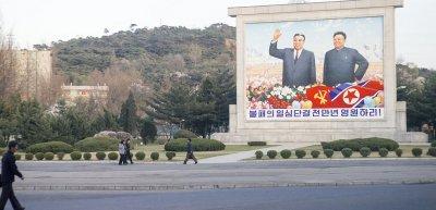 Die Aufforderung, positiv zu berichten, erhielt Reporter Sören Kittel nicht nur in Nordkorea. (c) Getty Images/Angel Garcia