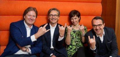 Frank Behrendt, Uwe Kohrs, Birgit Krüger, Ion Linardatos (v. l.) wollen immer noch Rock´n´Roll im Verband (c) Jens Jeske