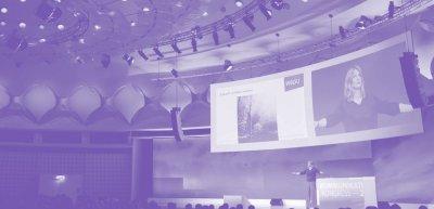 Zwei Kolleg:innen kostenlos zum digitalen Kommunikationskongress 2020 einladen - mit pressesprecher. (c) Quadriga