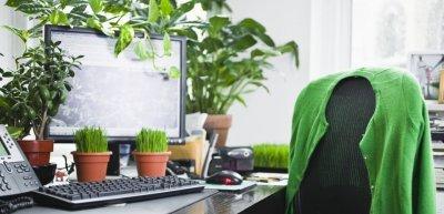 Grüne Wonne am Arbeitsplatz verhilft zu besserer Leistung (c) Thinkstock/Fuse