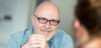 Markenprofi Sebastian Kirmse über den Logo-Relaunch (c) Laurin Schmid