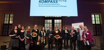 Verleihung des Kommunikationspreises Kompass (c) Marc Darchinger